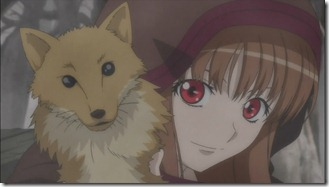 Horo plays with a dead fox